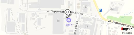 Банкомат, Сбербанк на карте Первомайского