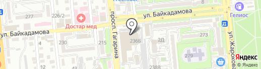 Leto на карте Алматы