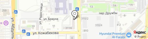 Well Come Real Estate на карте Алматы