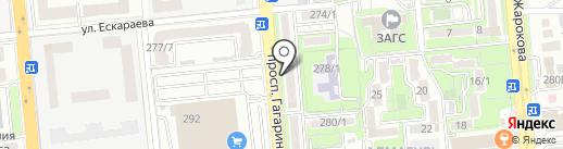 Тиара на карте Алматы