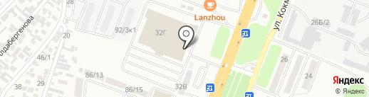 METRO на карте Алматы