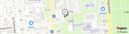 VIP на карте Алматы