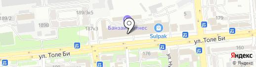 Праймпарк на карте Алматы