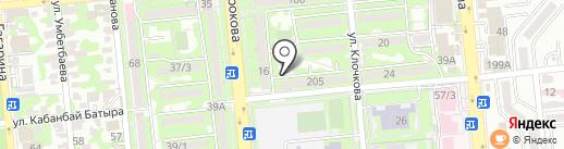 ГРОТЕСК на карте Алматы