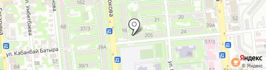 Evita на карте Алматы