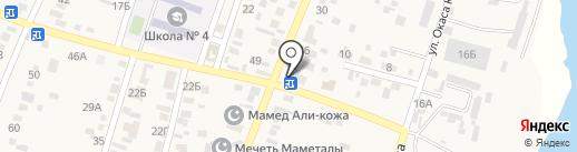 QIWI на карте Жапека Батыра
