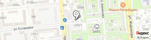 EXPO LOTTO на карте Алматы
