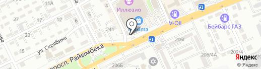 Tarlik Doner на карте Алматы