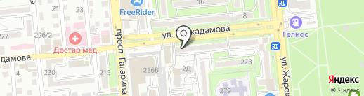 Лаборатория Маркетинга на карте Алматы