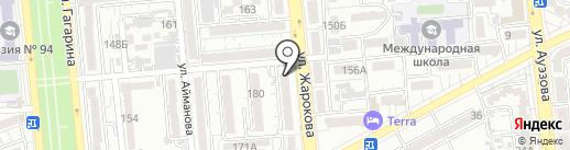Компания по откачке выгребных ям и канализации на карте Алматы