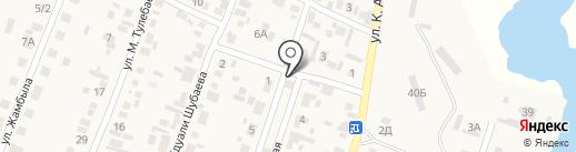 Айнур на карте Жапека Батыра
