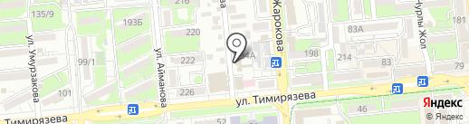 207 на карте Алматы