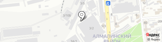 Евро-Каз Строй на карте Алматы