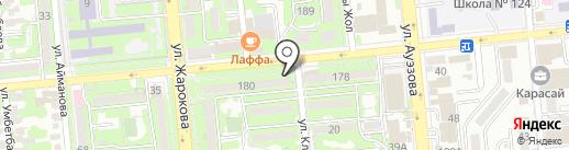 Сыра-Пиво на карте Алматы