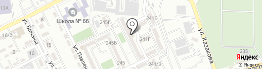 Инжу на карте Алматы