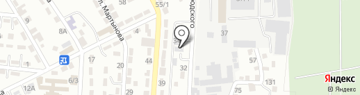RR Arena, ТОО на карте Алматы
