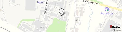 Универсал, ТОО на карте КазЦика