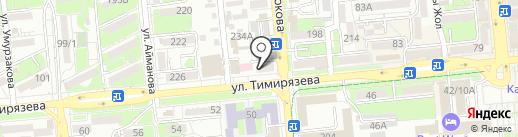 ДиДаш на карте Алматы