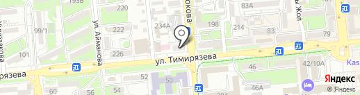 Идеальный дом на карте Алматы