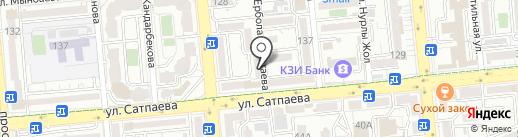Куаныш на карте Алматы