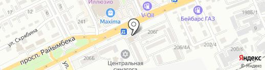 PEGAS AUTO на карте Алматы