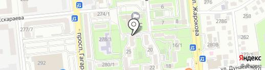 Нотариус Тигай Ж.А. на карте Алматы