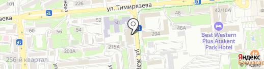 Magas Engineering на карте Алматы