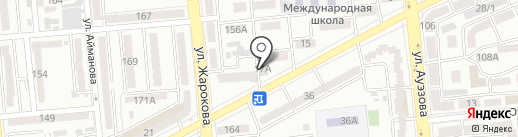 Чин-Кар на карте Алматы