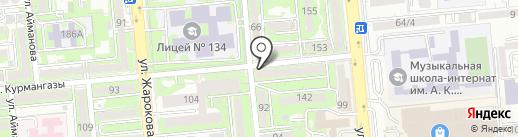 Аптека №7 на карте Алматы