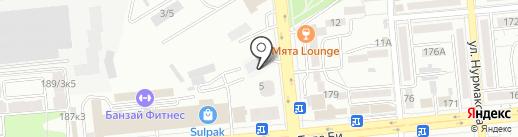 Posternazakaz на карте Алматы