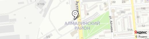 Центр реставрации колёс на карте Алматы