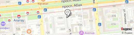 AccumPro на карте Алматы