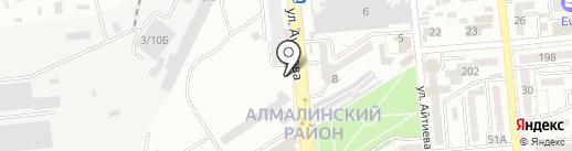 Bioklimat на карте Алматы