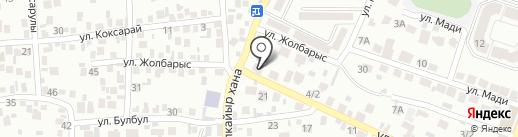 Нотариус Марупова Р.Ш. на карте Алматы
