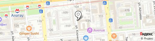 Love Radio, FM 103.5 на карте Алматы