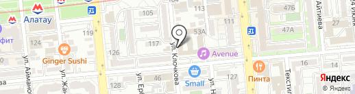 Отдел полиции УВД Бостандыкского района г. Алматы на карте Алматы