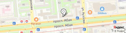 Клиника доктора Наримбетова на карте Алматы