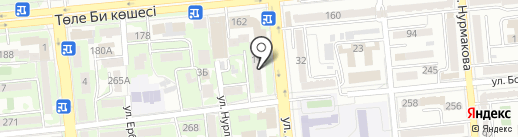 Детали холодильных машин на карте Алматы