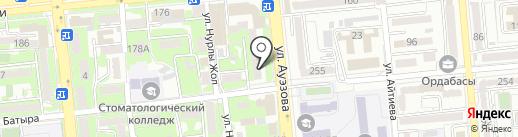 Sana Dent на карте Алматы