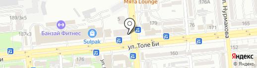 Wow Burger на карте Алматы