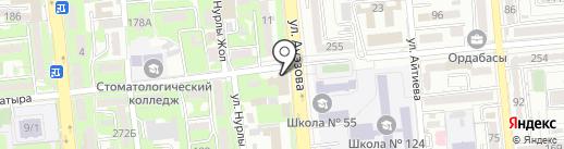 Бинго Шанс на карте Алматы