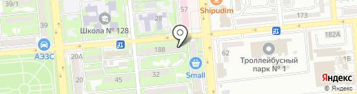 Тенториум на карте Алматы