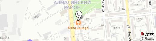 Telescope bar на карте Алматы