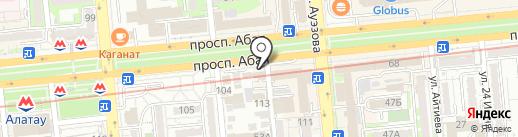 Пункт замены, продажи автомасел и фильтров на карте Алматы