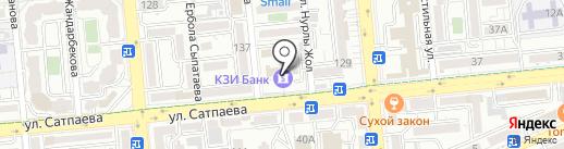 КЗИ Банк ДБ на карте Алматы