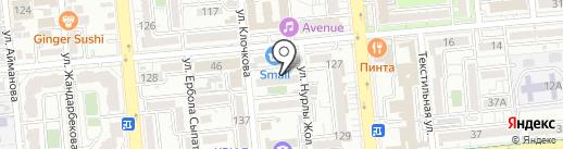 Домашний текстиль на карте Алматы