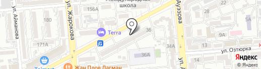TAZANOVA на карте Алматы