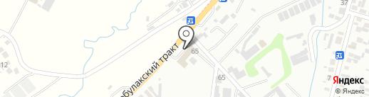 Magistral, автомойка на карте Алматы
