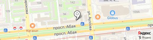 Miller Ломбард, ТОО на карте Алматы