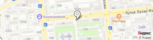 Участковый пункт полиции по делам несовершеннолетних Бостандыкского района на карте Алматы